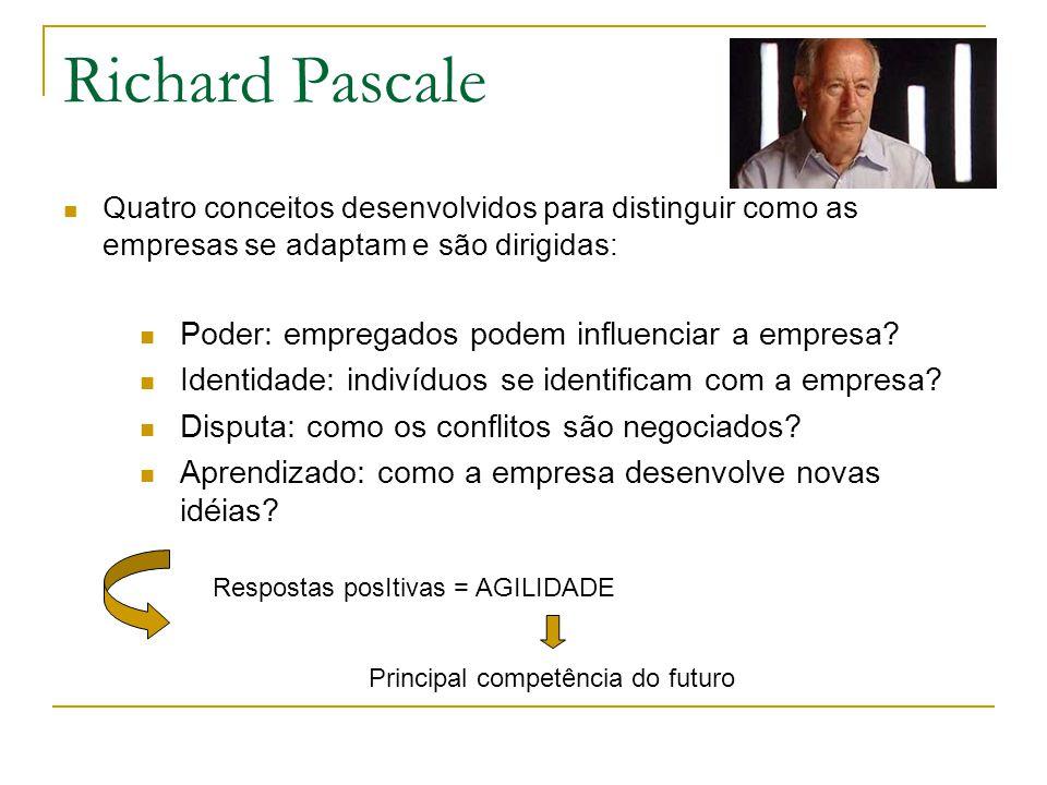 Richard Pascale Poder: empregados podem influenciar a empresa