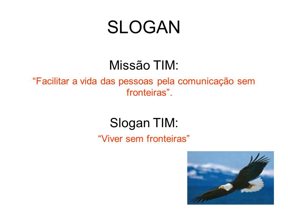 SLOGAN Missão TIM: Slogan TIM: