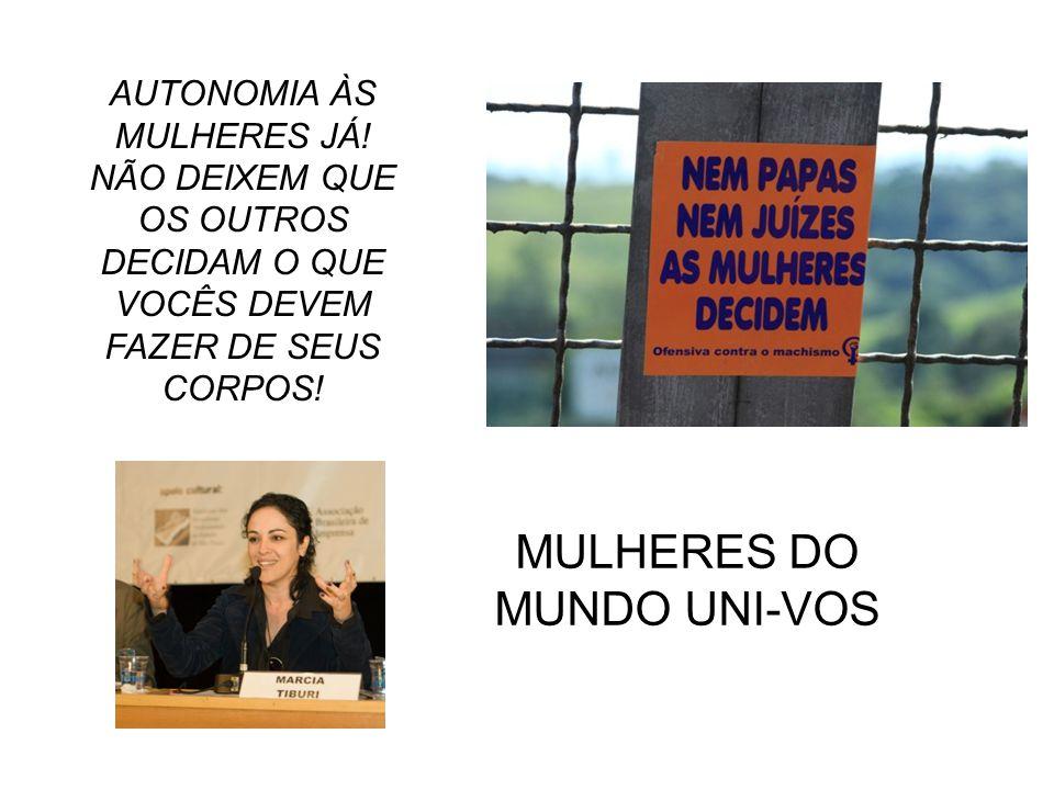 MULHERES DO MUNDO UNI-VOS