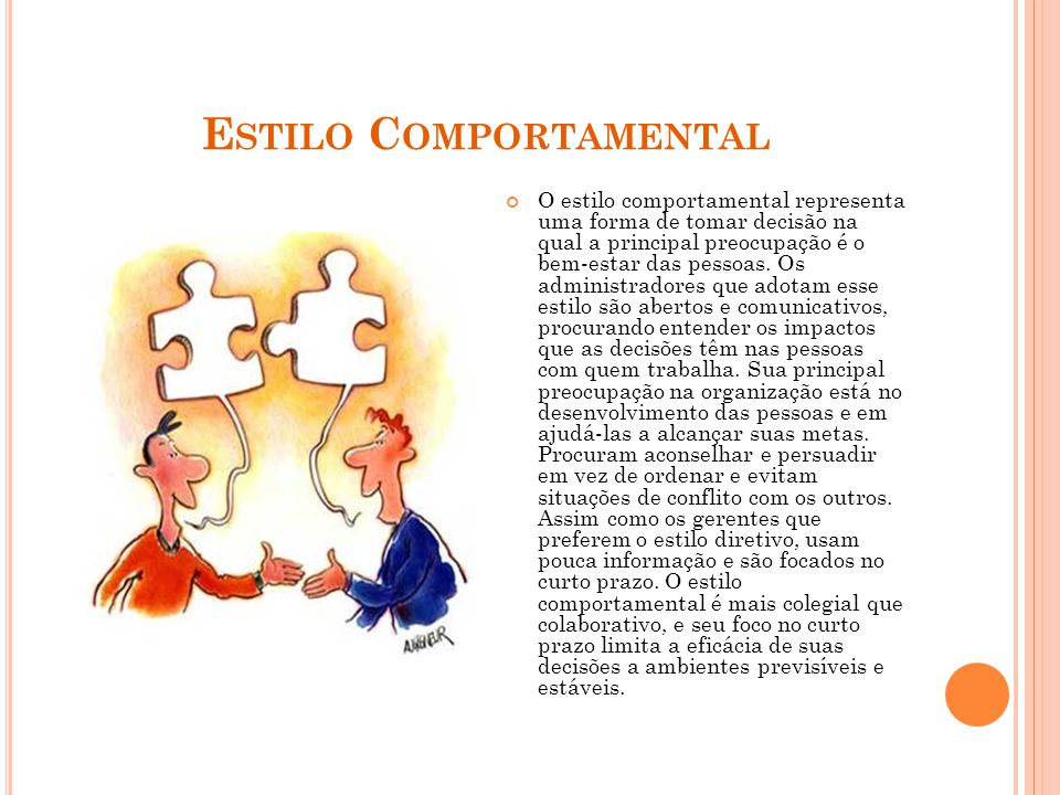 Estilo Comportamental