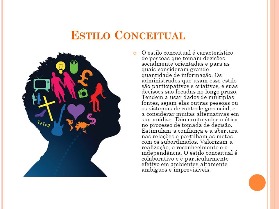 Estilo Conceitual