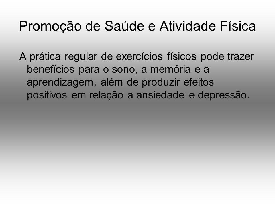 Promoção de Saúde e Atividade Física