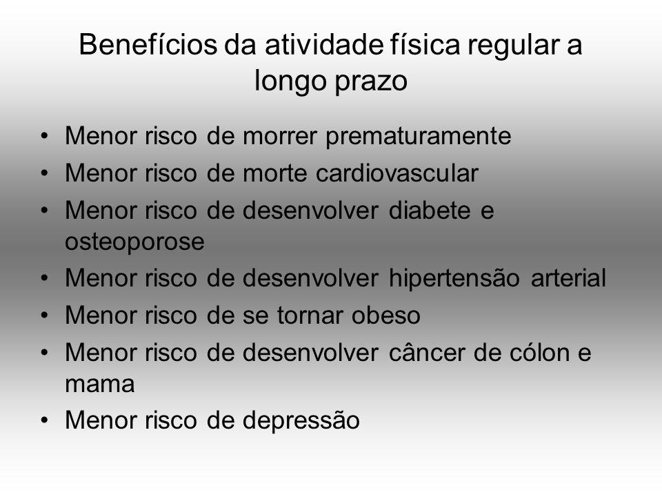 Benefícios da atividade física regular a longo prazo