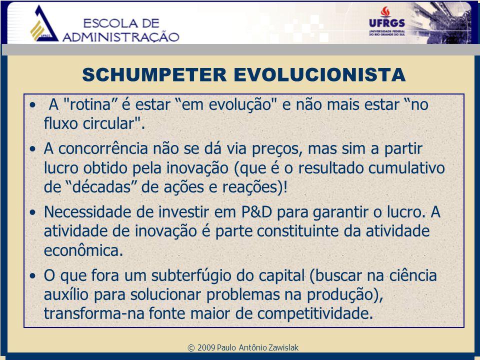 SCHUMPETER EVOLUCIONISTA
