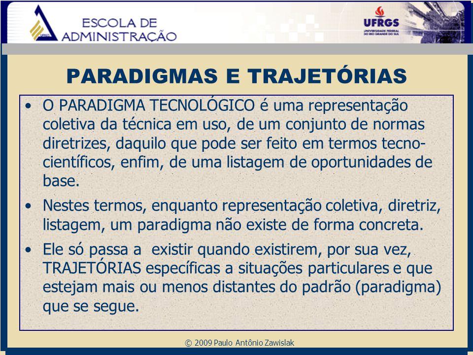 PARADIGMAS E TRAJETÓRIAS