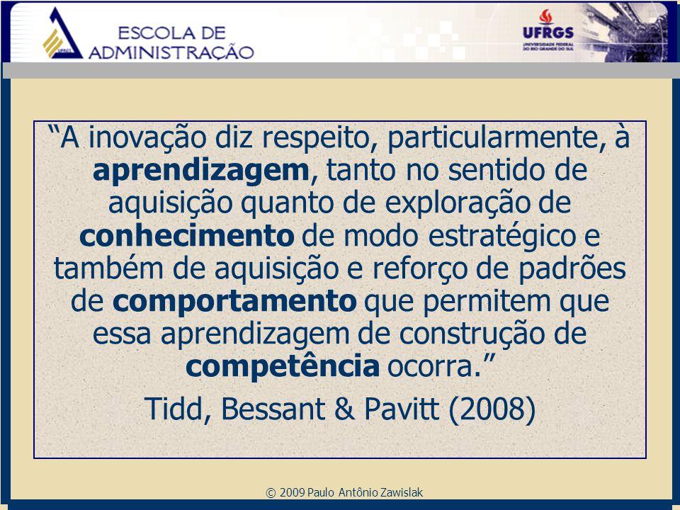 Tidd, Bessant & Pavitt (2008)