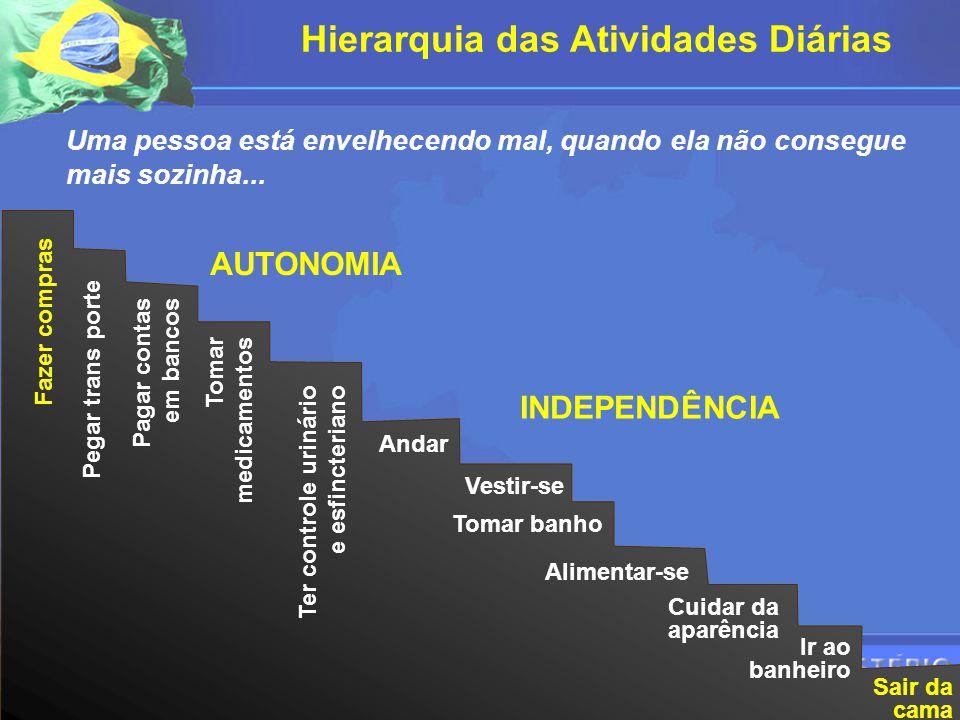 Hierarquia das Atividades Diárias