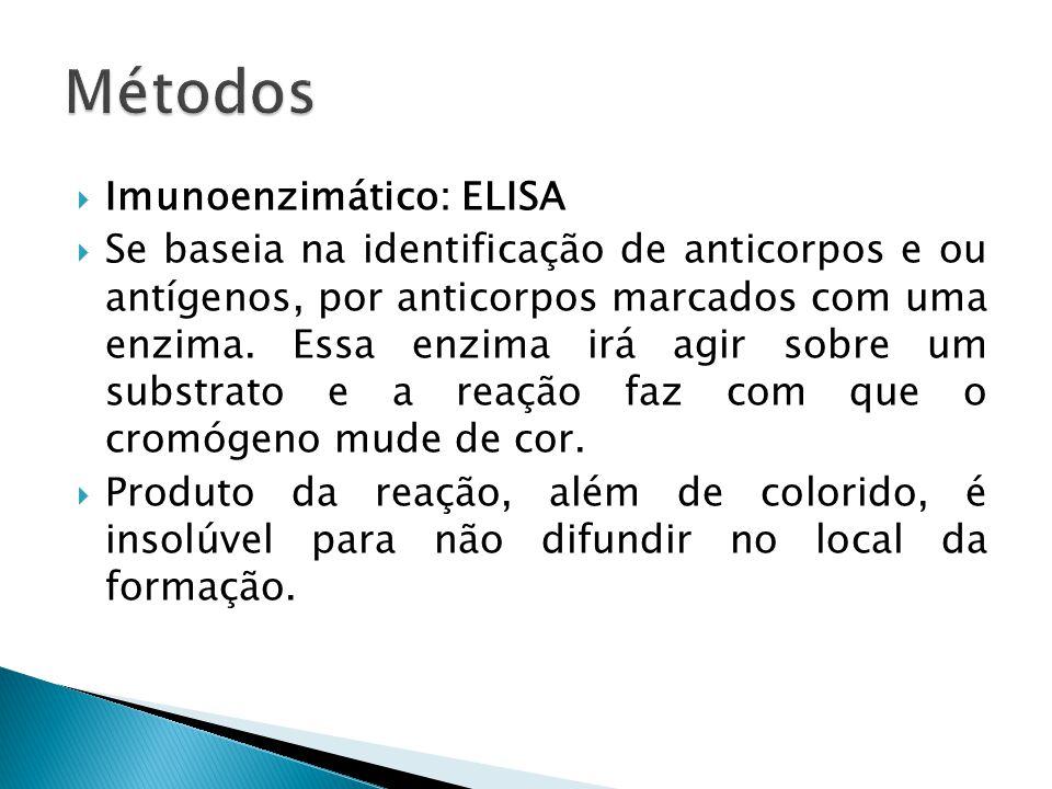 Métodos Imunoenzimático: ELISA