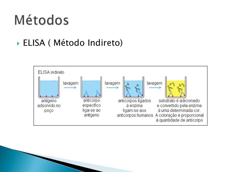 Métodos ELISA ( Método Indireto)