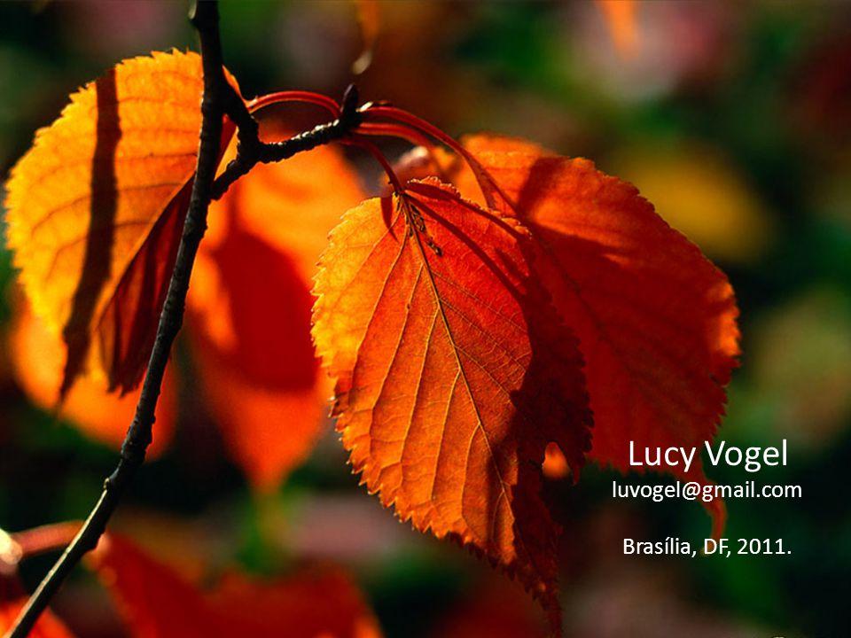 Lucy Vogel luvogel@gmail.com Brasília, DF, 2011.