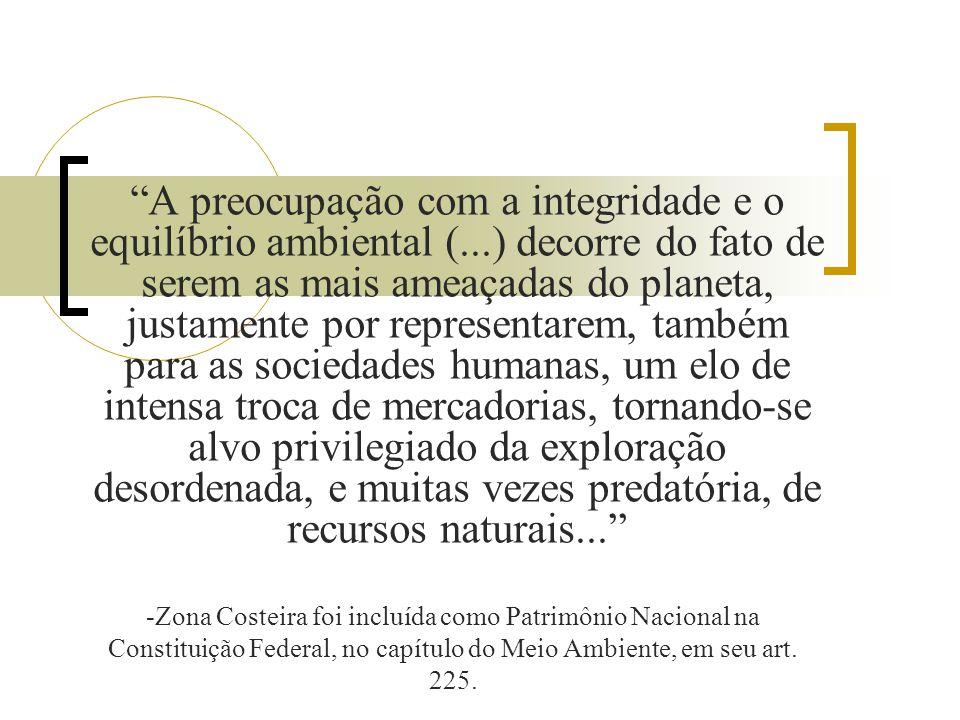 A preocupação com a integridade e o equilíbrio ambiental (