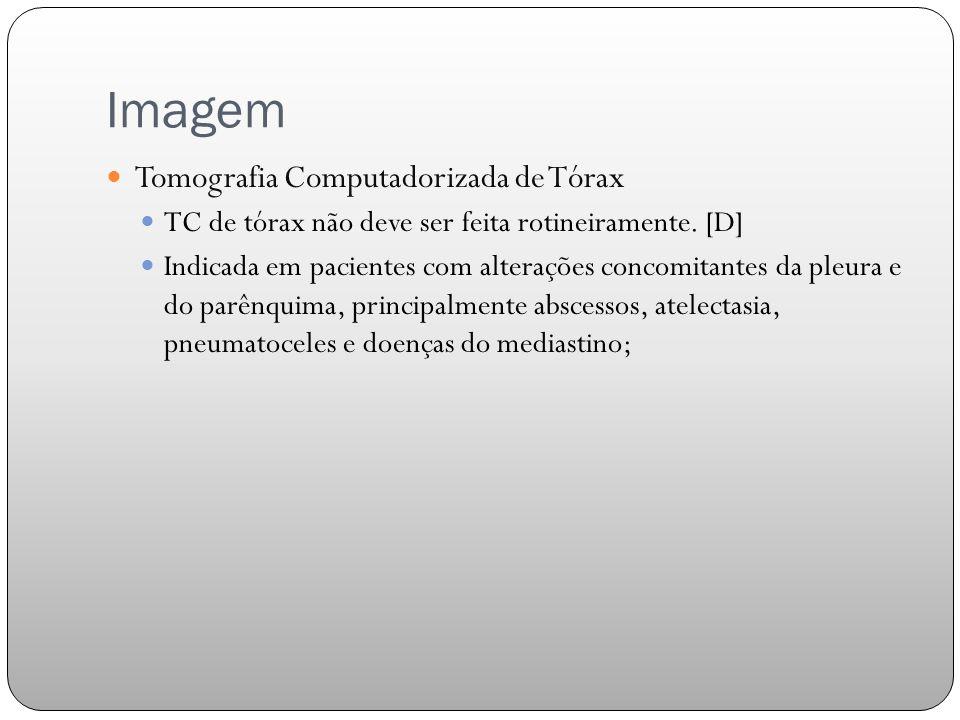 Imagem Tomografia Computadorizada de Tórax