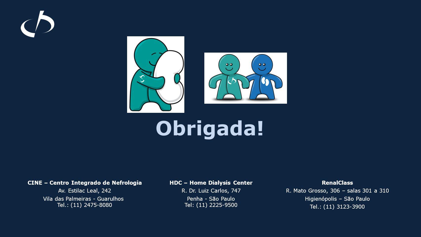 CINE – Centro Integrado de Nefrologia HDC – Home Dialysis Center