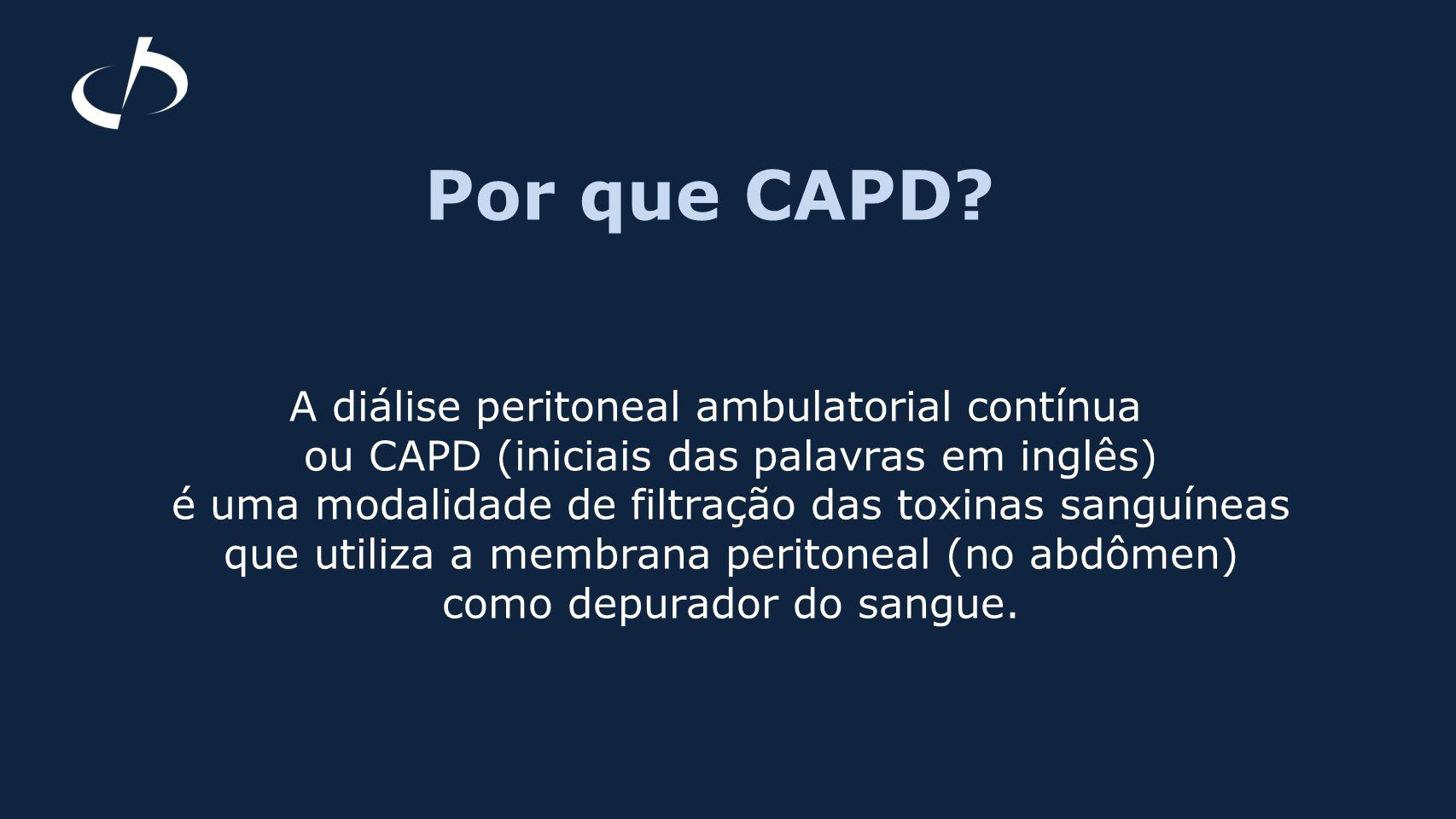Por que CAPD