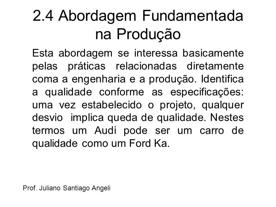 2.4 Abordagem Fundamentada na Produção