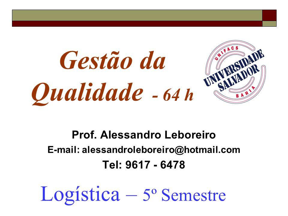 Prof. Alessandro Leboreiro E-mail: alessandroleboreiro@hotmail.com