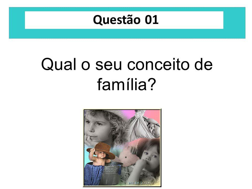 Qual o seu conceito de família