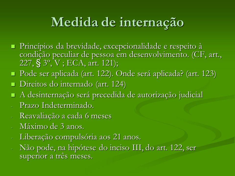 Medida de internação