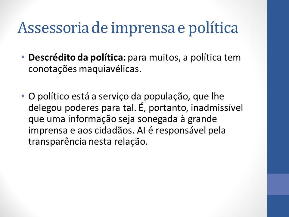Assessoria de imprensa e política