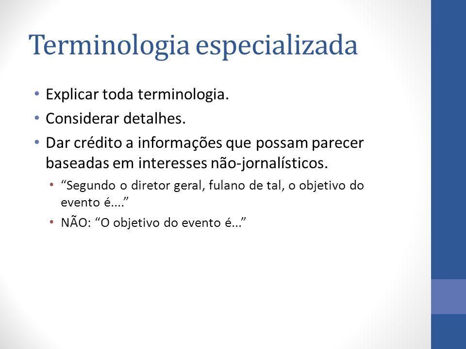 Terminologia especializada