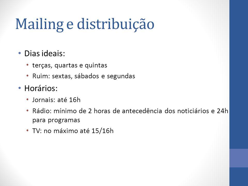 Mailing e distribuição