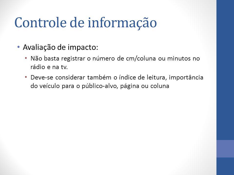 Controle de informação