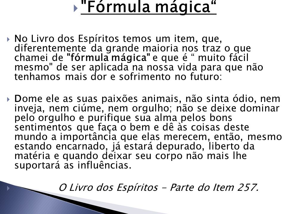Fórmula mágica