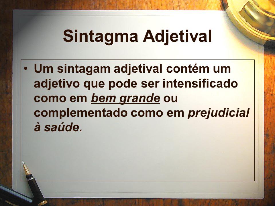Sintagma Adjetival