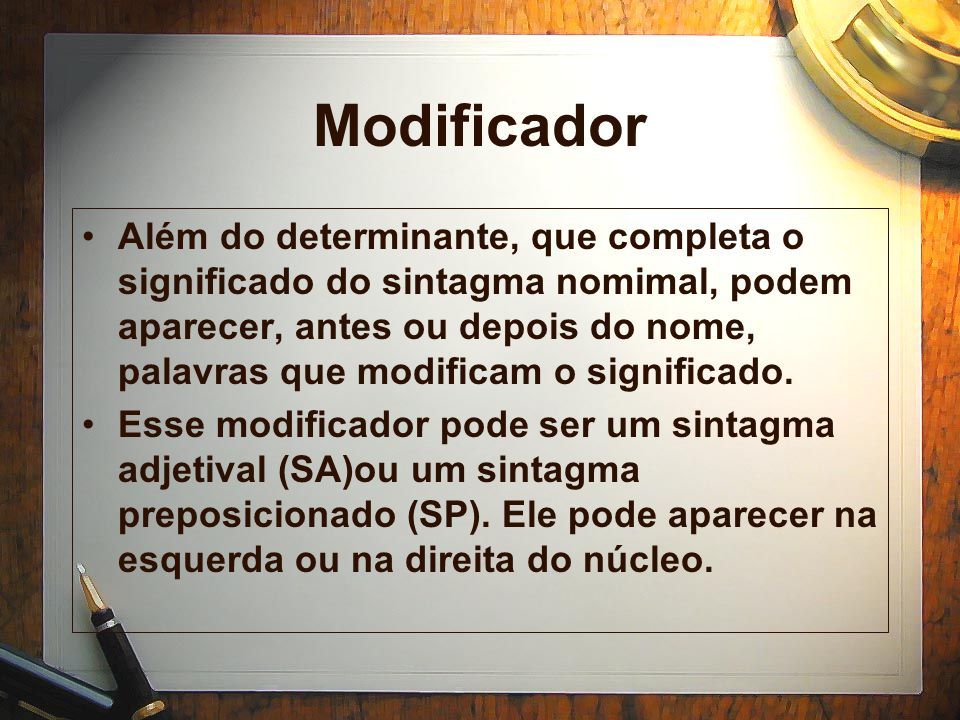 Modificador