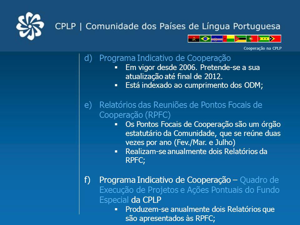 Programa Indicativo de Cooperação