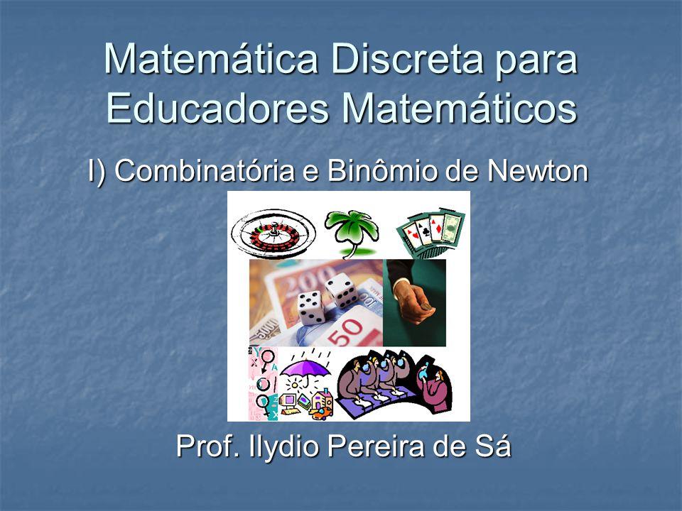 Matemática Discreta para Educadores Matemáticos