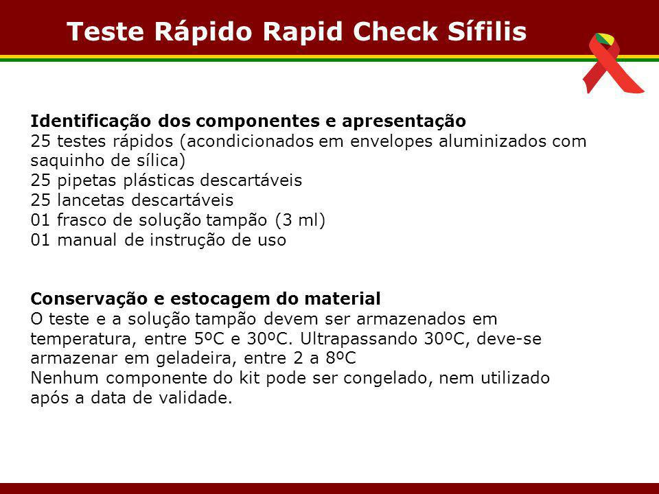 Teste Rápido Rapid Check Sífilis