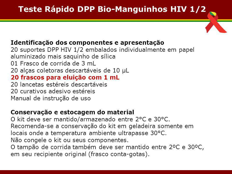 Teste Rápido DPP Bio-Manguinhos HIV 1/2