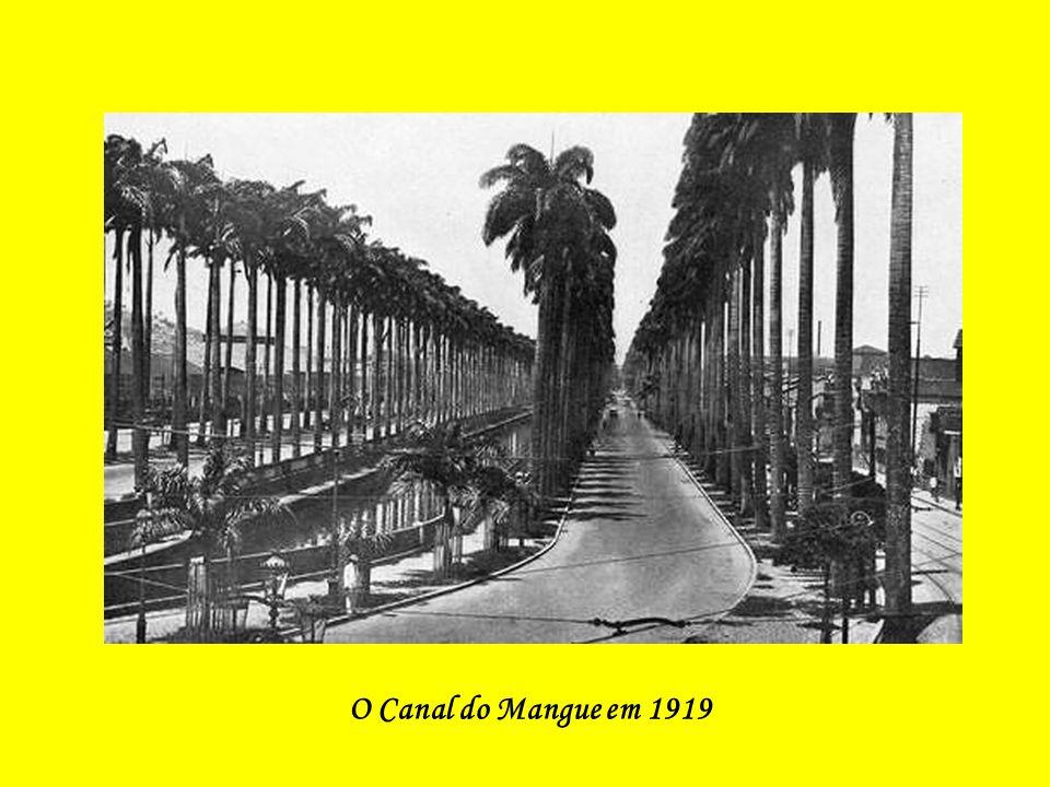 O Canal do Mangue em 1919