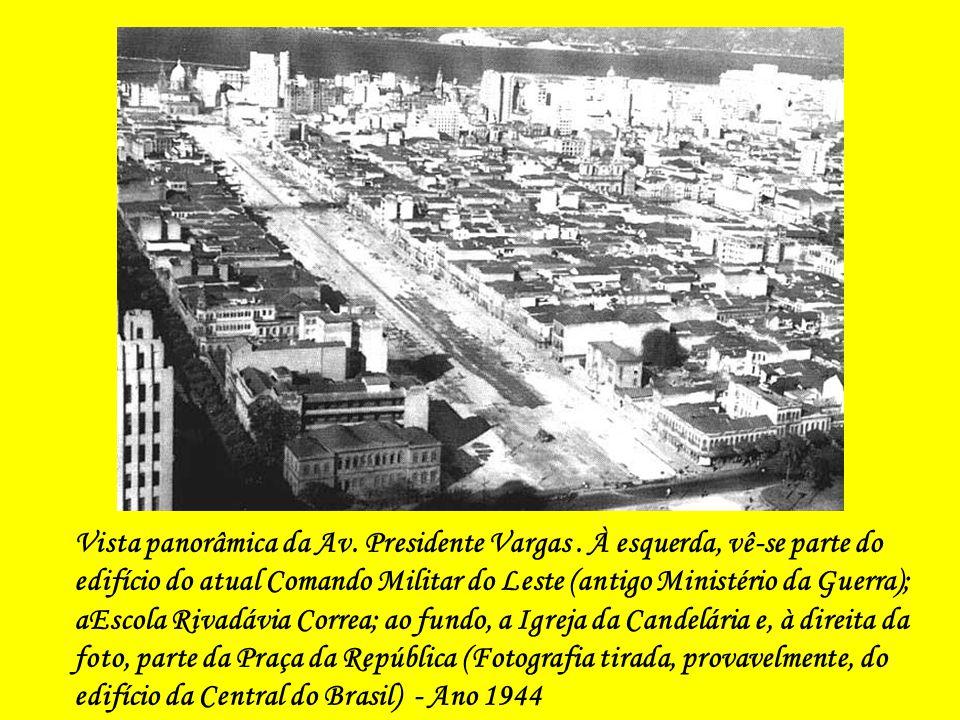 Vista panorâmica da Av. Presidente Vargas