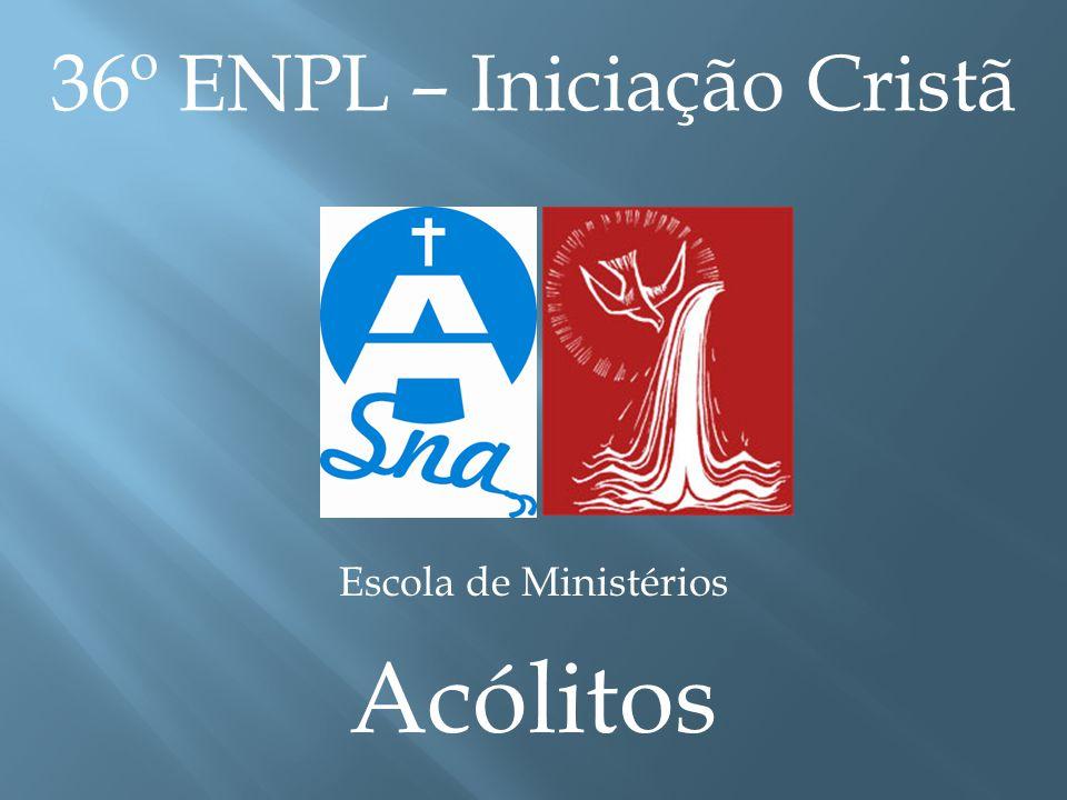 36º ENPL – Iniciação Cristã