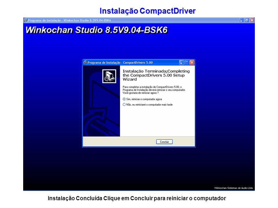 Instalação CompactDriver