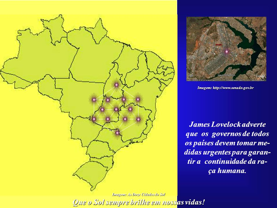 James Lovelock adverte que os governos de todos