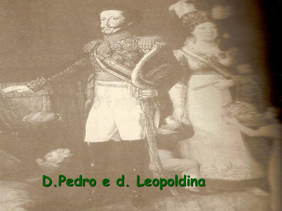 D.Pedro e d. Leopoldina