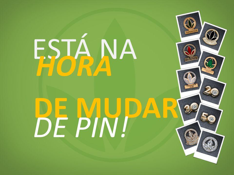 ESTÁ NA HORA DE MUDAR DE PIN!