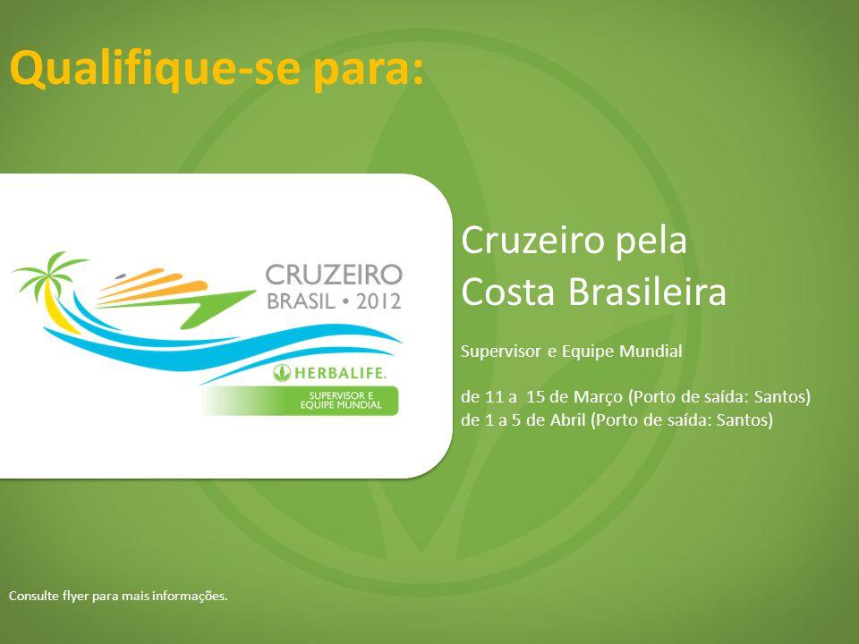 Qualifique-se para: Cruzeiro pela Costa Brasileira
