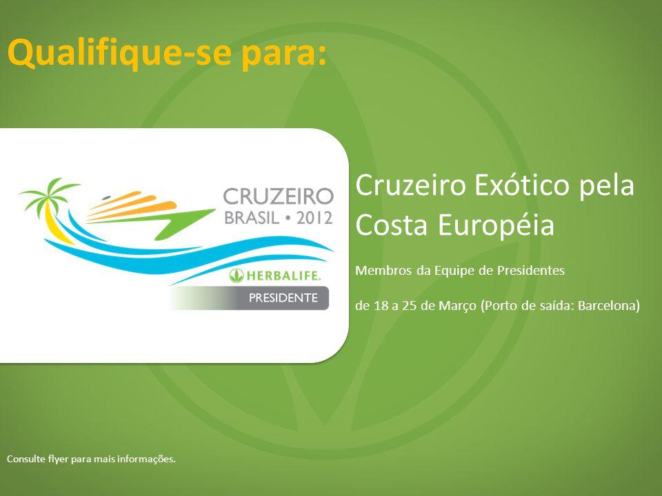 Qualifique-se para: Cruzeiro Exótico pela Costa Européia