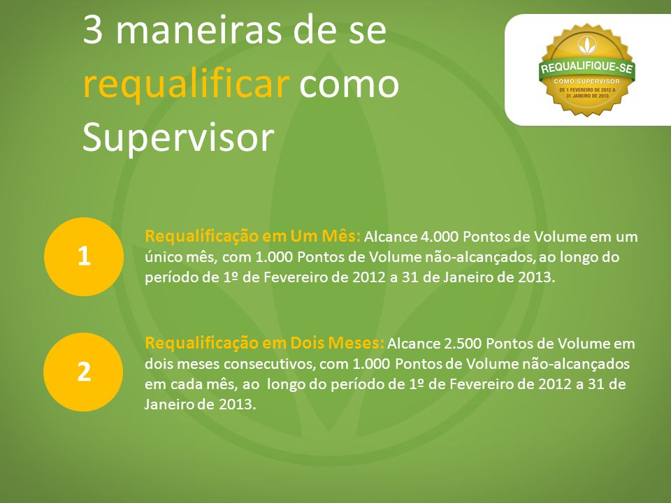 3 maneiras de se requalificar como Supervisor