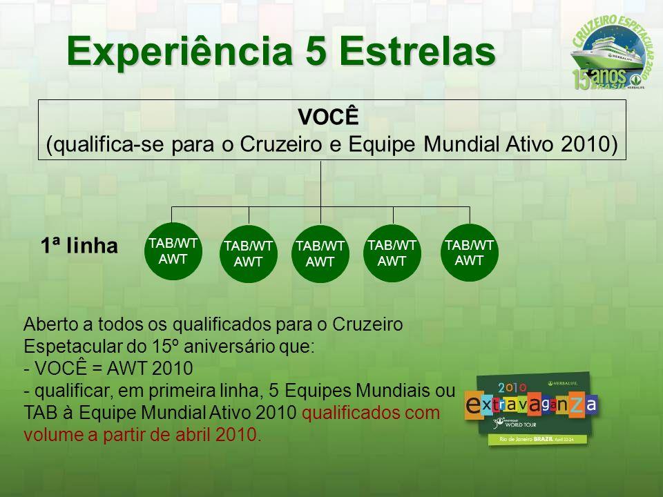 (qualifica-se para o Cruzeiro e Equipe Mundial Ativo 2010)
