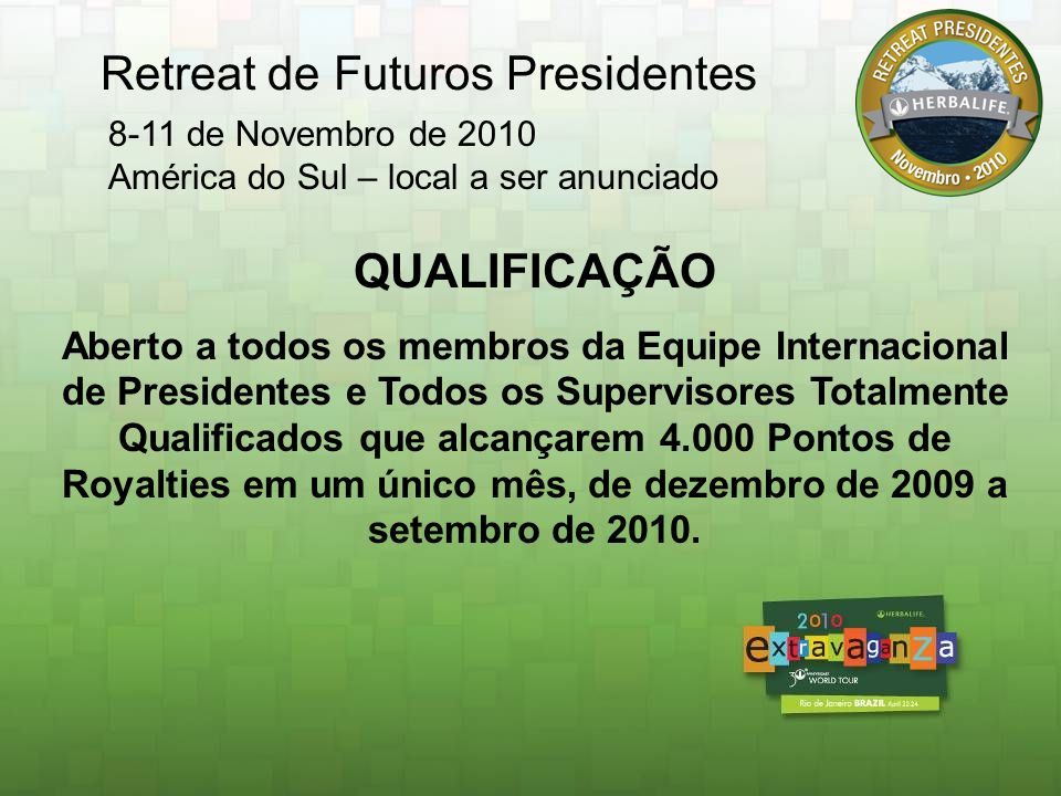 Retreat de Futuros Presidentes