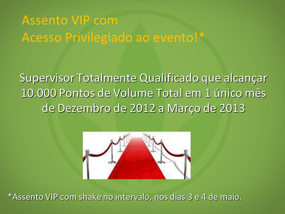 Assento VIP com Acesso Privilegiado ao evento!*