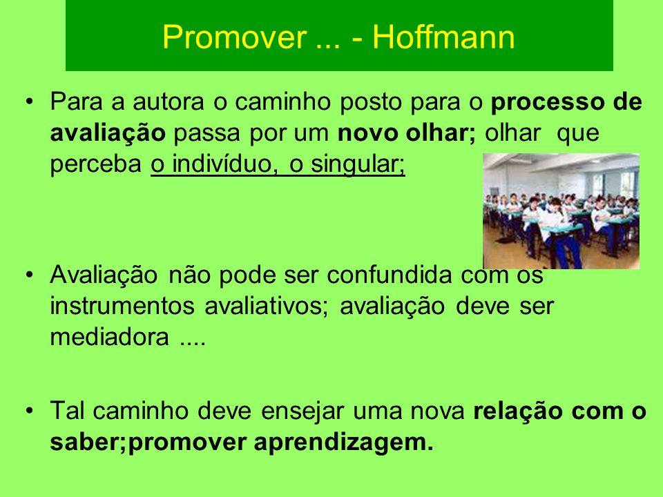 Promover ... - Hoffmann