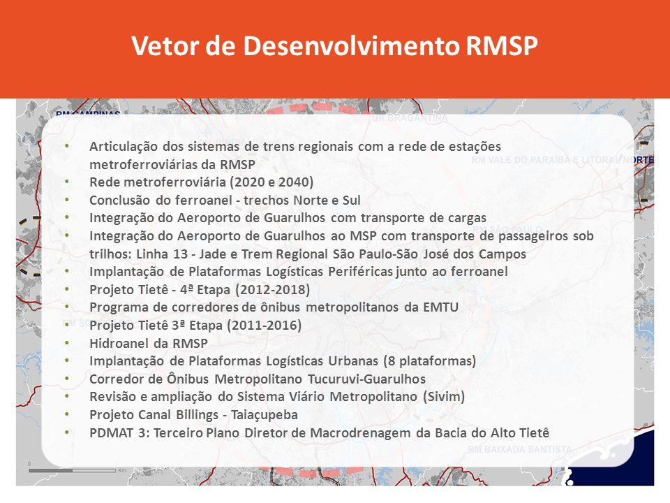 Vetor de Desenvolvimento RMSP