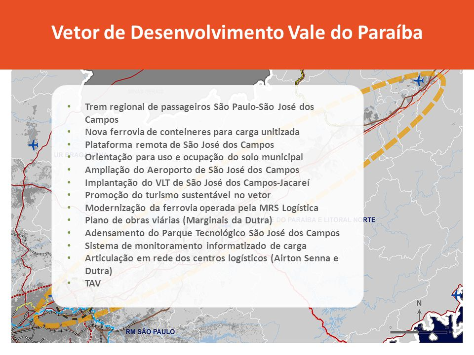 Vetor de Desenvolvimento Vale do Paraíba