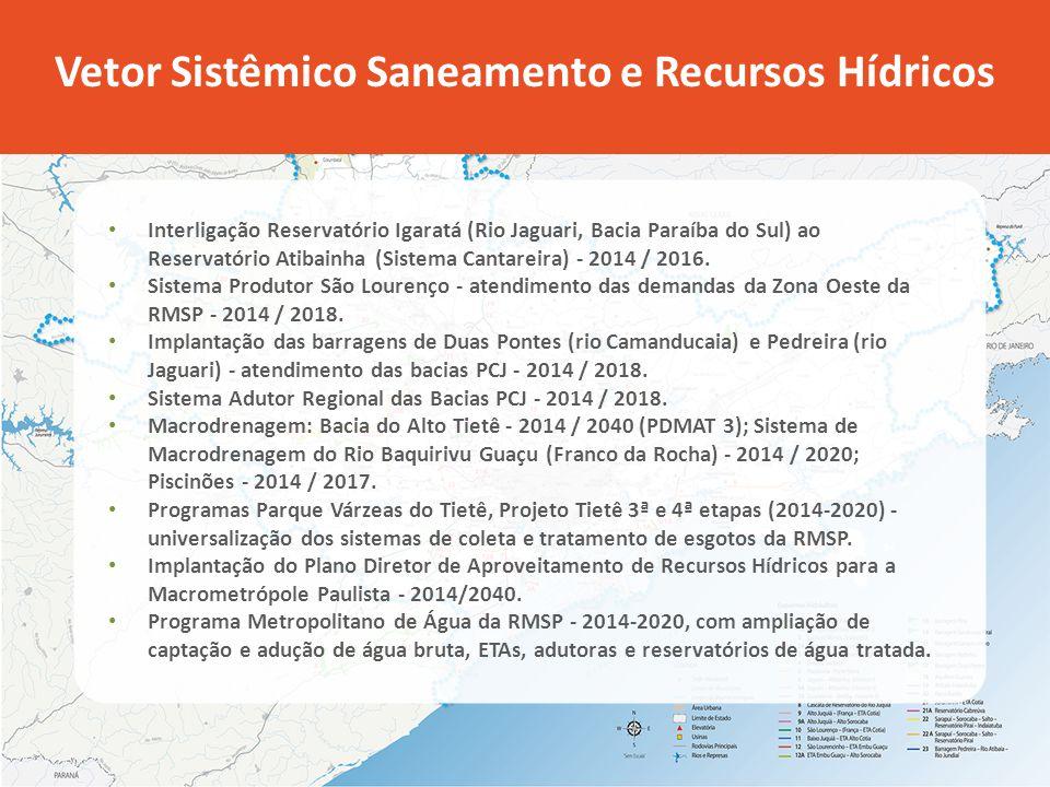 Vetor Sistêmico Saneamento e Recursos Hídricos